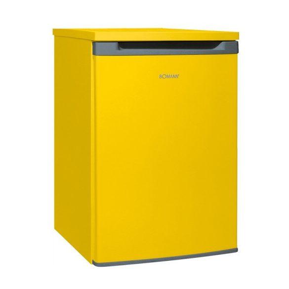 Bomann VS 354 yellow hűtőszekrény