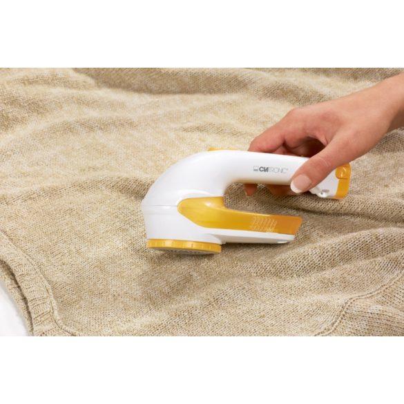 Clatronic MC 3241 fehér-gelb textil borotva