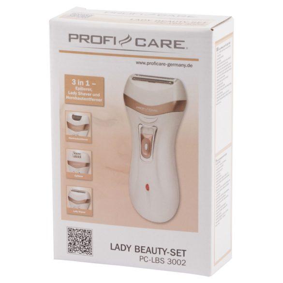ProfiCare PC-LBS 3002 fehér női szépségápoló szett