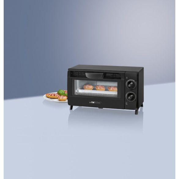 Clatronic MB 3463 fekete 8L 800W mini sütő