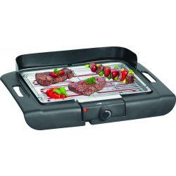 Clatronic BQ 3507 fekete Windschutz asztali grill