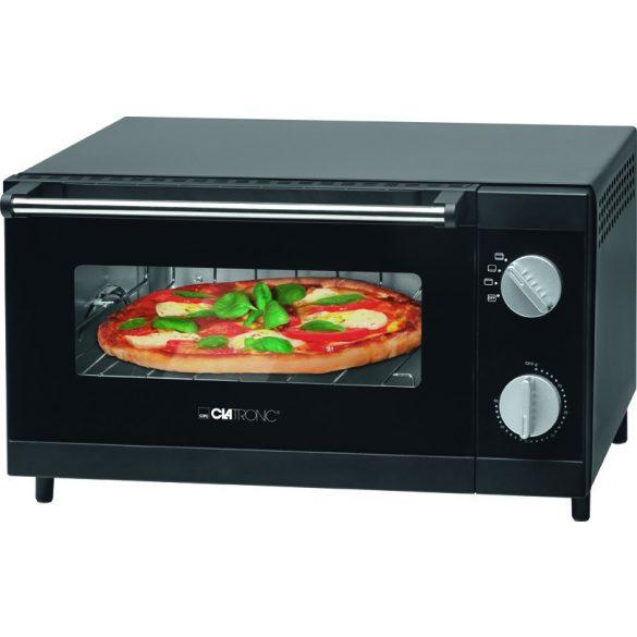 Clatronic MPO 3520 fekete 12L pizzasütő