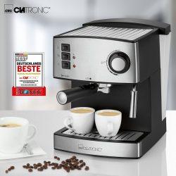 Clatronic ES 3643 fekete-inox Kávéfőző