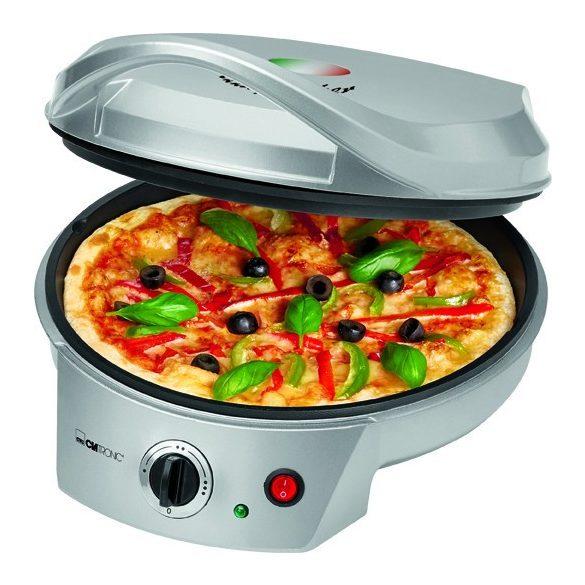 Clatronic PM 3622 ezüst 1.800W pizzasütő