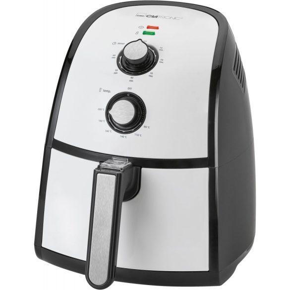 Clatronic FR 3667 H fekete-fehér 1500W forrólevegős sütő