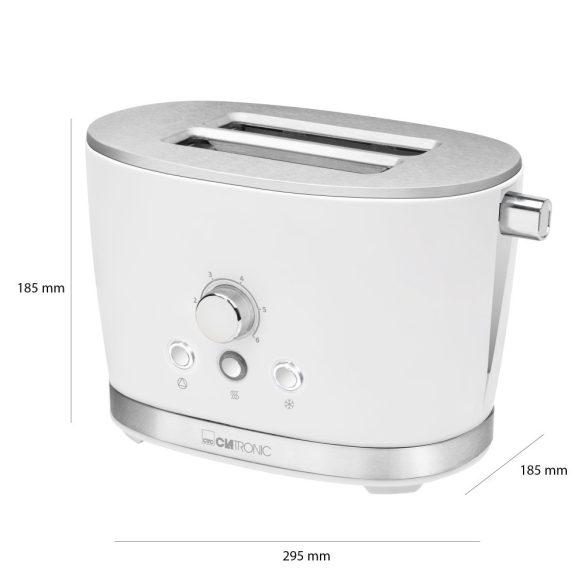 Clatronic TA 3690 fehér kenyérpirító