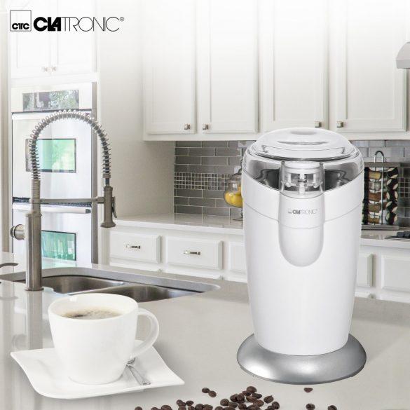 Clatronic KSW 3306 fehér 120W kávédaráló