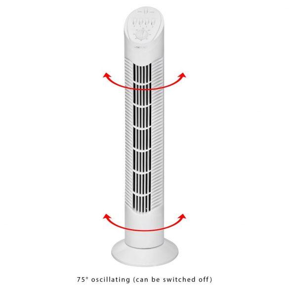 Clatronic T-VL 3546 fehér Timer oszlop ventilátor