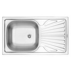Deante ZMU 0110 1 medencés mosogató csepegtetővel - szatén