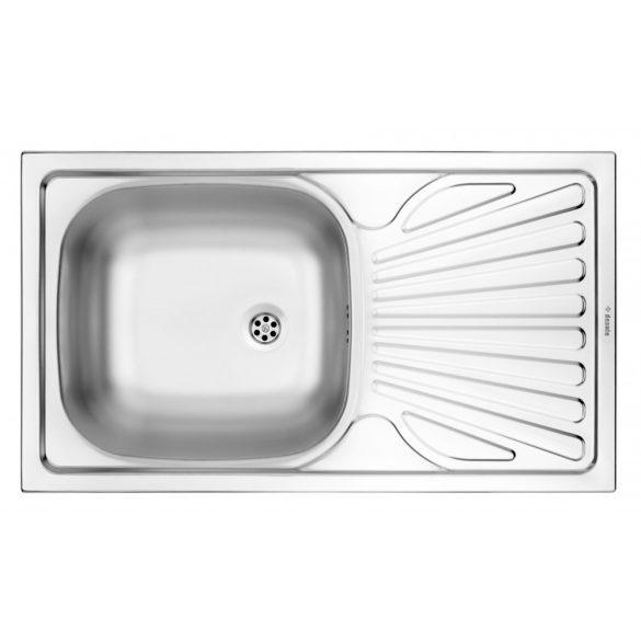 Deante ZMU 3110 1 medencés mosogató csepegtetővel - dekor