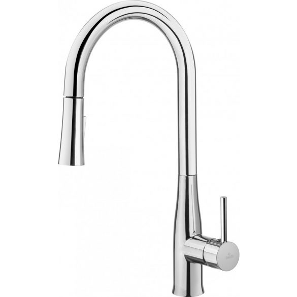 Deante BDH 072M Álló mosogató csaptelep U alakú kifolyóval kihúzható zuhanyfejjel