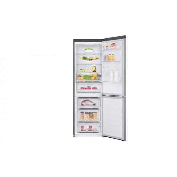 LG GBB61PZHZN alulfagyasztós hűtőszekrény Lineáris Inverter Kompresszorral