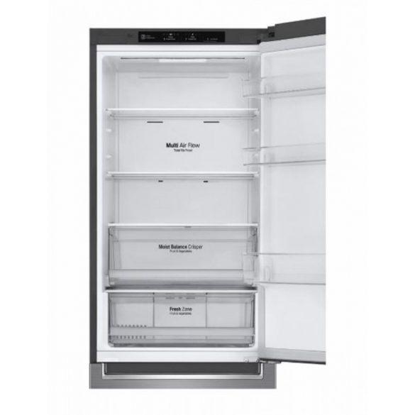 LG GBB61PZJZN alulfagyasztós hűtőszekrény Lineáris Inverter Kompresszorral