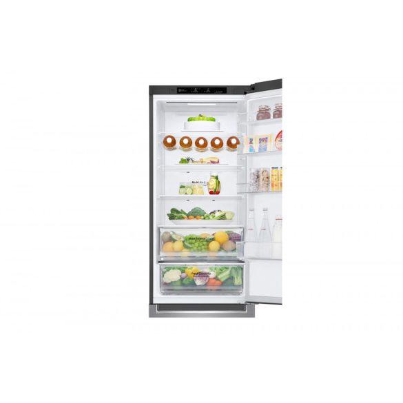 LG GBB62PZGFN alulfagyasztós hűtőszekrény Lineáris Inverter Kompresszorral