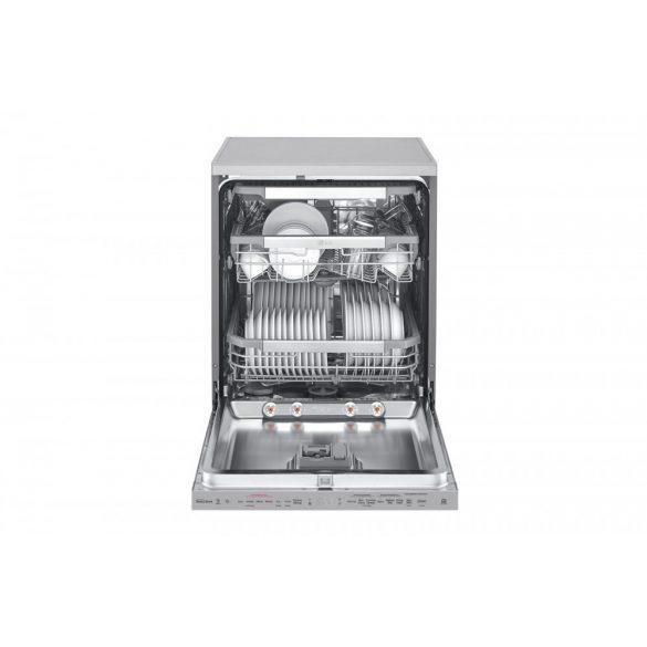 LG DF415HSS A+++ energiaosztályú QuadWash™ gőzös mosogatógép TrueSteam™ technológiával